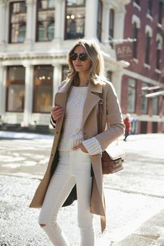 winter white and beige outfits - Google Search