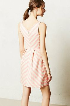 this pink stripy dress is my February mood.  romantic and springy and pink!