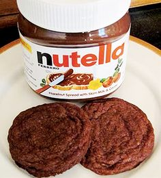 Nutella Cookies. 1 cup Nutella  ½ cups Sugar  1 cup All-purpose Flour  1 whole Egg