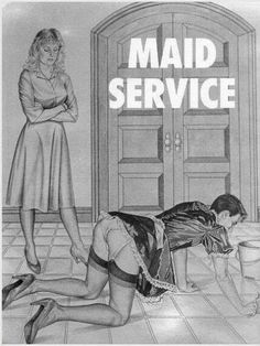 Femdom Enslavement Story: Domme Slaver abducts a small, slim, weak man. She force feminizes him. With a whip she trains him into a sissy maidservant slave. Sissy Maid, Sissy Boy, House Maid, Wedding Night Lingerie, Weak Men, French Maid, Female Supremacy, Entertainment, Dominatrix