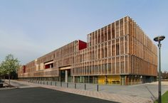 Ameller, Dubois & Associés — UTC transportations research building