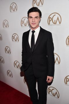 Pin for Later: Hot Hollywood Stars Turn Heads at the Producers Guild Awards Finn Wittrock