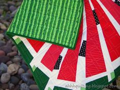 Ahhh...Quilting: Little Watermelon Quilt