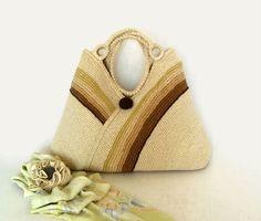 Crochet el bolso de mano moda otoño bandolera bolso por RUMENA