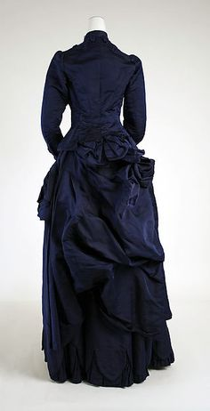 Dress, 1880-1885 The Metropolitan Museum of Art
