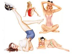 I want to do a Vargas inspired pin-up shoot!