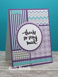 The best things in life are Pink.: Pink & Main's Frosty collection - 36 cards from one 6x6 paper pad