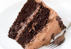 The Best Chocolate Cake. The Best Chocolate Cake with Creamy Chocolate Buttercream Frosting! The perfect cake for parties birthdays or just because! Amazing Chocolate Cake Recipe, Best Chocolate Cake, Chocolate Chip Cookie Dough, Chocolate Recipes, Chocolate Oreo, Oreo Cream, Cream Cake, Berry Smoothie With Yogurt, Mini Cheesecake Cupcakes