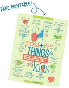 64 Positive Things to Say to Kids - Bounceback Parenting