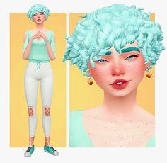 Organic Gardening For Dummies Sims 5, Sims 4 Mm Cc, Sims Four, Sims 4 Cas, Pelo Sims, Sims 4 Characters, Sims 4 Cc Packs, Sims 4 Toddler, Mint Hair