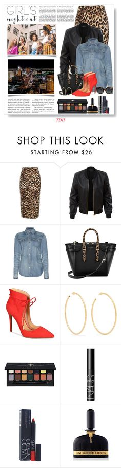 """""""Out with My Girls!"""" by talvadh ❤ liked on Polyvore featuring Alberto Biani, LE3NO, Polo Ralph Lauren, Aspinal of London, Daya, Jennifer Fisher, Anastasia Beverly Hills, NARS Cosmetics, Tom Ford and Dolce&Gabbana"""