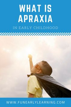 What is Childhood Apraxia of Speech and What Are the Symptoms? Great information for parents about apraxia, speech therapy and resources. Early Learning Activities, Articulation Activities, Speech Activities, What Is Childhood, Early Childhood, Kindergarten Readiness, Preschool Literacy, Speech Language Pathology, Speech And Language