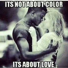 its not about colour its about love