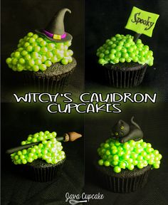Witch's Cauldron Cupcakes