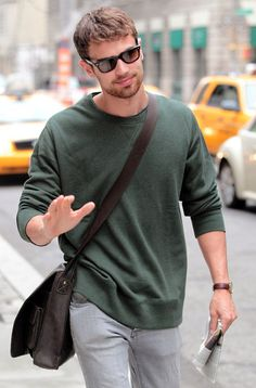 Theo James. I just died a little over that smile well actually I died a little looking at him in general