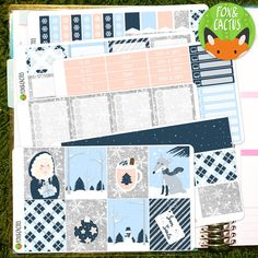 Snow Place Like Home EC Vertical 6 sheet Weekly by FoxAndCactus