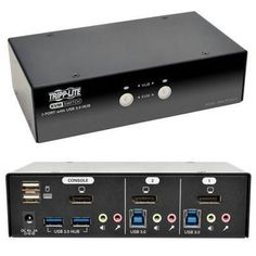 2 port dp kvm switch with audio