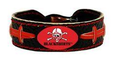 Nebraska Cornhuskers Bracelet - Blackshirts Team Color Football