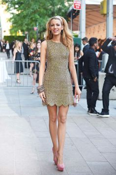 Blake Livley - love the dress  the shoes