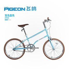 "Flying Pigeon Bikes, Single-Speed City Bike, 20""/Large,High Carbon Steel Frame,Good For Leisure Riding (Blue). Super lightweight, high carbon light steel frame, only weighs 30 lbs. 20 inches , single speed system, 46t crankset. Aiboshi V brakes system,Aluminum brake handle. Suit for height 150-175cm , Length:58.27 inches , Wheel diameter:21.65 inches , Saddle Height: 34.65 inches. Ideal for basic urban/city life leisure riding,comfortable and durable."