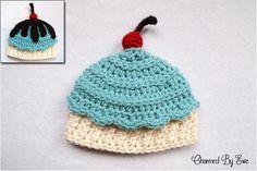 Free Crochet Ice Cream Cupcake Hat Pattern
