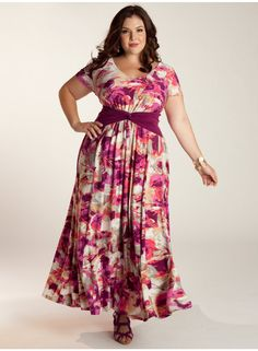 IGIGI - Mildred Dress Freshness in style #IGIGIStyle #DressyGirlPLus #MaxiDress2013 $142.00