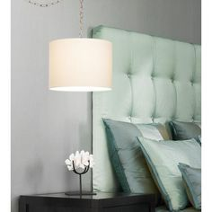plug in hang up lamp-living room