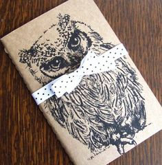 Owl Moleskine Notebook