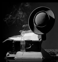 Lester Young's hat      by Herman Leonard