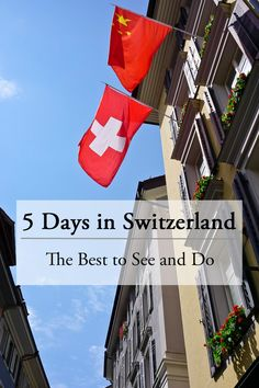Travelling to Europe? Add Switzerland to your must see list and check out this list of the best destinations to hit in the summer months.