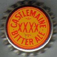 Castlemaine XXXX Bitter Ale, bottle cap | Castlemaine Perkins, Brisbane, Queensland, Australia | cap used 1960-1966