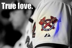 It's true love for Braves fans.