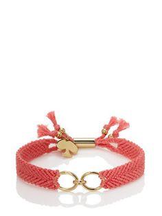 on purpose charm bracelet by kate spade new york