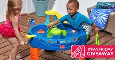 Step2 Finding Dory Swim & Swirl Water Table #FanFriday {US}... sweepstakes IFTTT reddit giveaways freebies contests