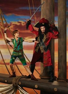 Pin for Later: Christopher Walken's First Picture as Captain Hook Sure Is Something