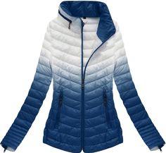 Dámska prechodná bunda modrá xr7112x Winter Jackets, Fashion, Winter Coats, Moda, Winter Vest Outfits, Fashion Styles, Fashion Illustrations
