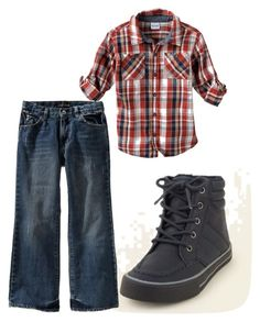 """MCR-Cayden"" by charismatic-chic ❤ liked on Polyvore featuring The Children's Place and Old Navy"