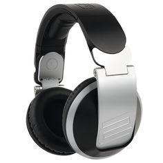 Refurbished Headphones Reloop - Black / Silver for cheap. With a Warranty Diy Headphones, Studio Headphones, Over Ear Headphones, Professional Headphones, Professional Dj, Pioneer Dj, Dj Booth, Best Dj, Dj Equipment