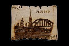 Туристические сувениры город Рыбинск