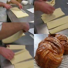 Brioche feuilletée enjoy it all my followers #dessertmasters #divydieos #modaecustomizacao #pastry #patisserie #cake #bakery #yum #yummy #model #sfs #instasian #followme #instafood #foodporn  #yum #yummy #amazing #cute #awesome #s4s #pretty #instafood #eclair #fauchon #paris #french #hayatburada