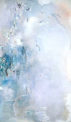 https://flic.kr/p/SytFVw | Blue Rhapsody | mixed media on stretched canvas, 60 x 48 inches.