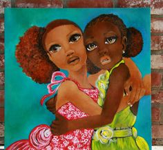 African Art I am Here for You by SalkisReArt on Etsy, $1700.00