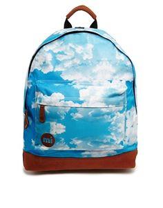 Mi Pac Cloud Print Backpack