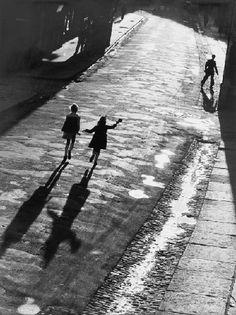 Siegfried Lauterwasser - contre-jour street (straße im gegenlicht), 1947