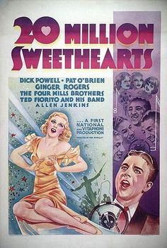Ginger Rogers 20 Million Sweethearts