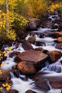 Fall On The River, Guanella Pass, Arapaho Roosevelt National Forest, Colorado Easy Jet, Les Cascades, Rocky Mountain National Park, National Forest, Nature Pictures, Rocky Mountains, Amazing Nature, Mother Nature, Nature Photography