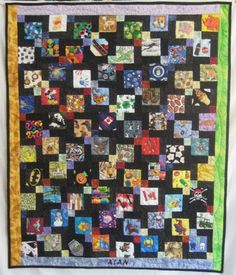 I-spy Disappearing 9-patch quilt from The Dread Pirate Rogers Web page