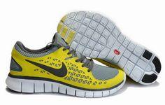 save off fa9fe 19b44 Mens Nike Free Run Chrome Yellow Stealth Black Nike Free Runs, Nike Free  Run 3
