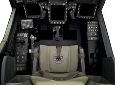 Boeing AH-64D Apache Helicopter Cockpit