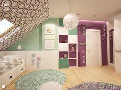 Pokój nastolatki w pastelowych barwach - zdjęcie od art inside - studio projektowania wnętrz i ogrodów - Pokój dziecka - Styl Nowoczesny - art inside - studio projektowania wnętrz i ogrodów